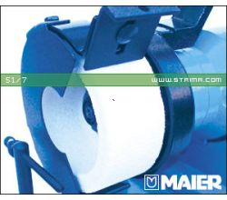 MAIER brúsny kotúč pre nožnice, určené pre stroj 68/1 [R], biely